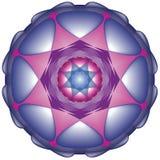 Sier Mandala Royalty-vrije Illustratie