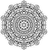 Sier Mandala Stock Afbeeldingen