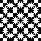 Sier naadloos geometrisch patroon, sterren, ruiten royalty-vrije illustratie