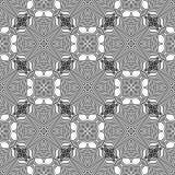 Sier Naadloos Lijnpatroon Royalty-vrije Stock Afbeeldingen