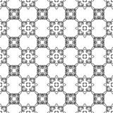 Sier Naadloos Lijnpatroon Royalty-vrije Stock Afbeelding