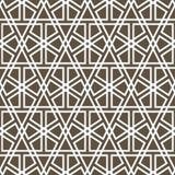 Sier naadloos patroon Royalty-vrije Stock Afbeelding