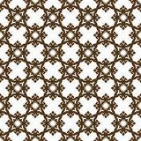 Sier naadloos patroon Stock Foto's