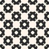 Sier naadloos patroon, zwart-wit mozaïektextuur Royalty-vrije Stock Foto