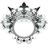 Sier schild Royalty-vrije Stock Foto