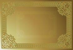 Sier VectorFrame Royalty-vrije Stock Afbeelding