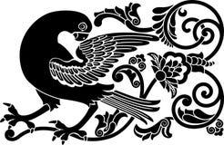 Sier vogel Stock Illustratie