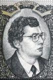 Siergiej Mawrodi portrait from Russian money Royalty Free Stock Image
