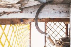 Sierp na wiejskim tle Obrazy Stock