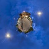 sierpień plac w Hannover. Mała planeta. Fotografia Stock