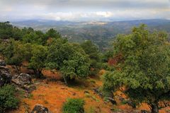 Sierra Andaluc3ia Jaén España de Cazorla y de Segura Fotografía de archivo libre de regalías