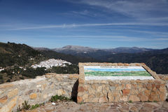 Sierra Bermeja Berge, Spanien Lizenzfreie Stockbilder