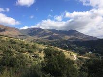Sierra Bermeja wsi i góry krajobrazy Obrazy Stock