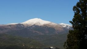 Sierra Blanca góra Obrazy Royalty Free