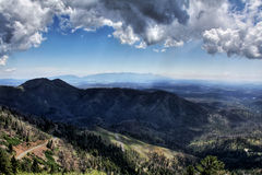 Sierra Blanca Mountains Fotografia Stock
