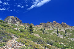 Sierra Buttes Royalty Free Stock Photo
