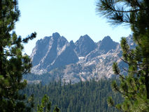 Sierra Buttes Royalty Free Stock Photography