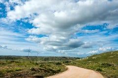 Sierra Carape in the Maldonado, Uruguay Royalty Free Stock Photo