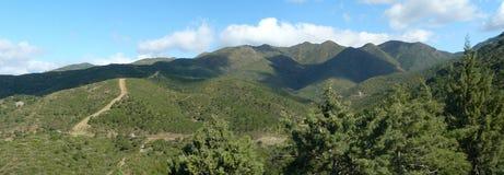 Sierra d'Almijara, Nerja image stock