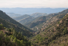 Sierra de埃斯帕 免版税图库摄影