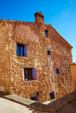 Sierra de Albarracin in Moscardon Teruel Royalty Free Stock Images