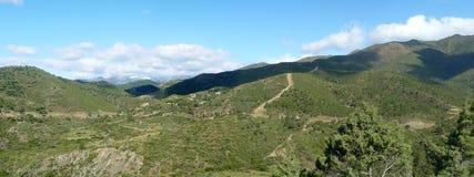 Sierra DE Almijara stock afbeelding