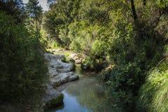 Sierra de Cazorla National Park. Borosa River Sierra de Cazorla Jaen Spain Stock Photography
