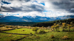 Sierra de Gredos, province of Avila, Castile Leon. Royalty Free Stock Photography