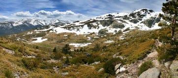 Sierra de Guadarrama de montagne Photographie stock libre de droits