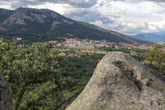 Sierra de Guadarrama, Madryt Hiszpania Zdjęcia Royalty Free