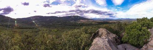Sierra de Guadarrama, Madryt Hiszpania Obrazy Royalty Free
