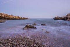 The sierra de irta in alcocebre, Castellon Royalty Free Stock Image