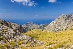 Sierra de Tramuntana,马略卡,西班牙 免版税库存图片