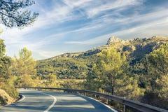 Sierra de Tramuntana,马略卡,西班牙 库存图片