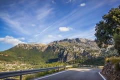 Sierra de Tramuntana, Mallorca, Spain Royalty Free Stock Images