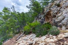 Sierra de Tramuntana, Mallorca, Spain Royalty Free Stock Photography