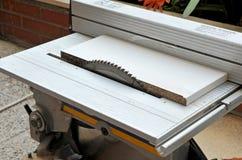 Sierra del poder del disco, herramientas eléctricas de la carpintería Fotos de archivo libres de regalías