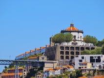 Sierra do Pilar Monastery in Porto Royalty Free Stock Images