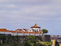 Sierra do Pilar Monastery in Porto Stock Photo