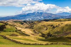 Sierra ecuadoriana Fotografie Stock Libere da Diritti