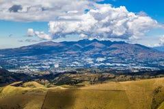 Sierra ecuadoriana Fotografia Stock