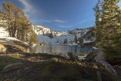 Sierra Gletscher-Fluss Lizenzfreie Stockfotos