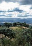 Sierra La Jayona Stadtrände Lizenzfreies Stockbild