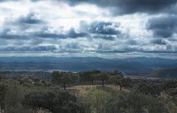 Sierra La Jayona Stadtrände II Stockfotografie