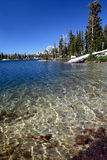 Sierra lac nevada Images libres de droits