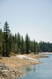 Sierra landscape at Shaver Lake, California Stock Photo
