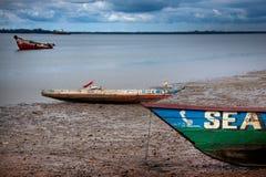 Sierra Leone, afryka zachodnia plaże Bunce wyspa Zdjęcia Stock
