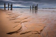 Sierra Leone, afryka zachodnia plaże Yongoro Obrazy Royalty Free