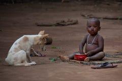 Sierra Leone, afryka zachodnia plaże Yongoro Obraz Stock