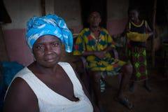 Sierra Leone, afryka zachodnia wioska Yongoro Fotografia Royalty Free